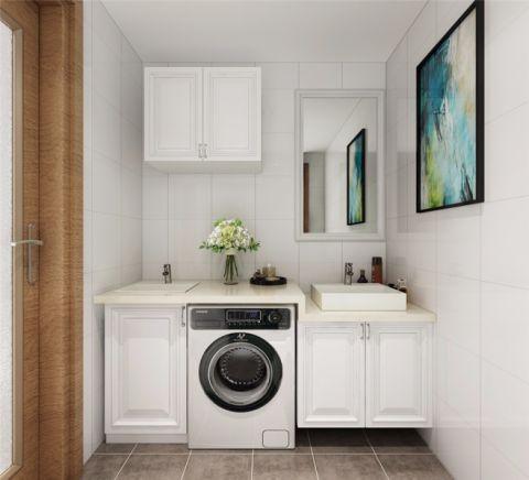 卫生间洗漱台简约风格装饰图片