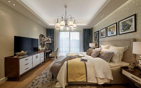 卧室电视柜现代简约风格装饰设计图片