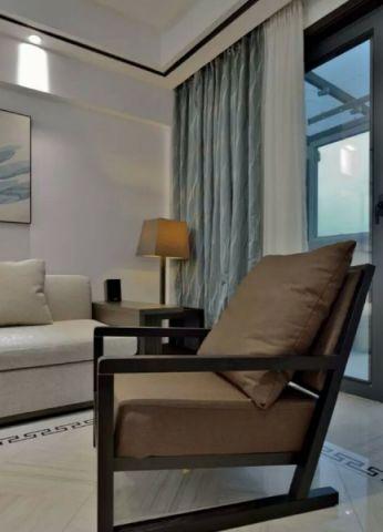 客厅窗帘简约风格装饰效果图
