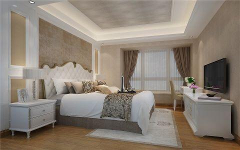 卧室电视柜中式风格效果图