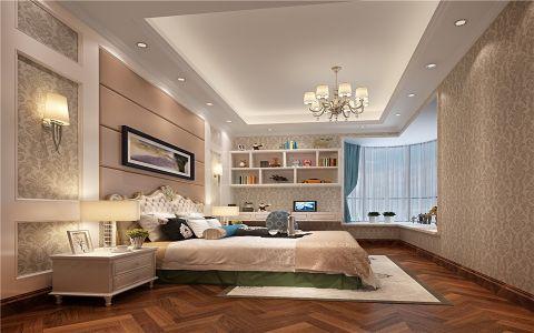 卧室飘窗简欧风格装饰效果图