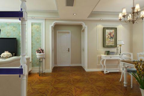 客厅走廊简欧风格装饰效果图