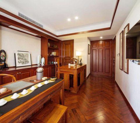凯旋门280平五室两厅新中式风格大户型装修样板间