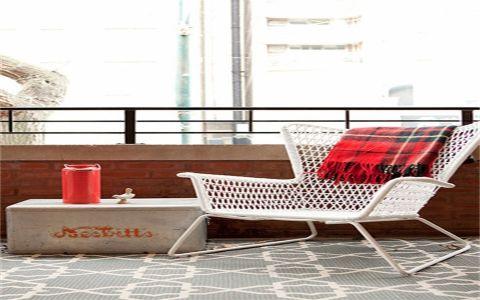 阳台窗台混搭风格装潢设计图片