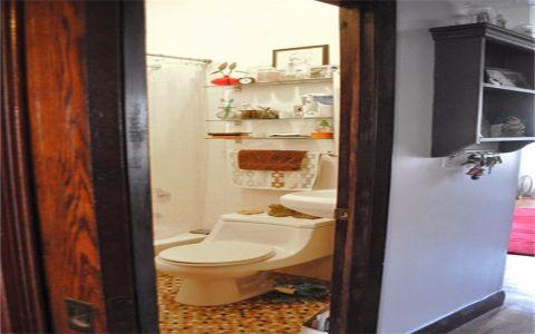 卫生间门厅混搭风格装潢效果图