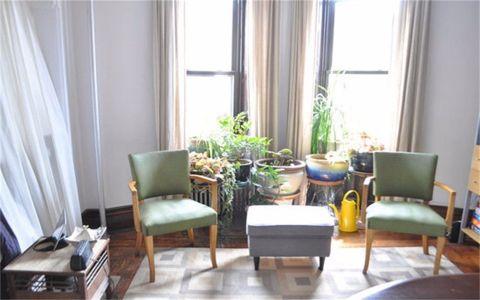 阳台窗帘混搭风格装饰图片