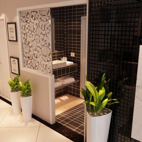 卫生间隔断欧式风格装饰图片