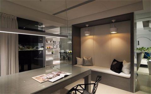 餐厅窗帘现代简约风格装修效果图