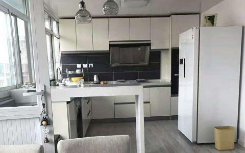 厨房窗台简约风格装潢效果图