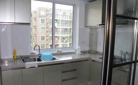 厨房窗台简约风格装修图片