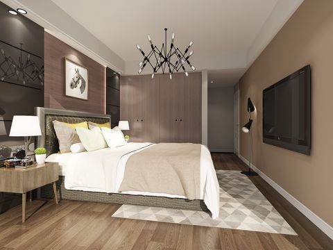 卧室吊顶现代风格装潢设计图片
