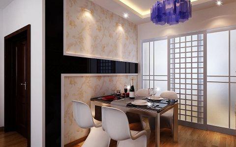 餐厅门厅新中式风格装饰设计图片