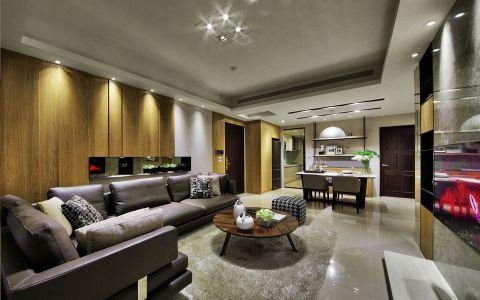 客厅走廊现代简约风格装修图片