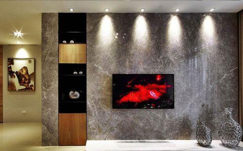 背景墙现代简约风格装饰图片