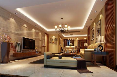 简中风格160平米大户型新房装修效果图