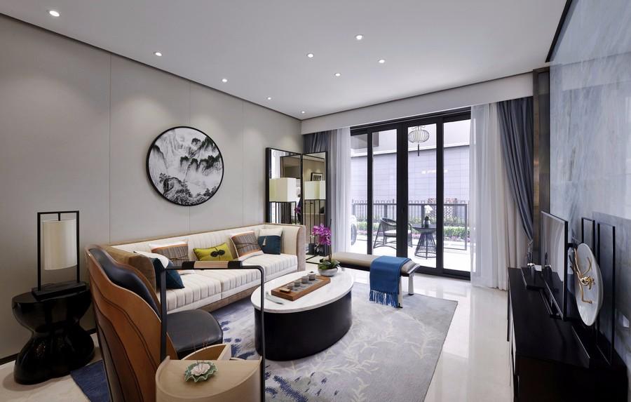 3室2卫2厅116平米新中式风格