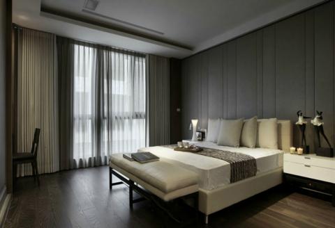 法式风格120平米大户型室内装修效果图
