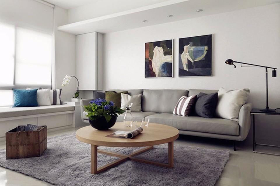 2室1卫2厅109平米现代简约风格