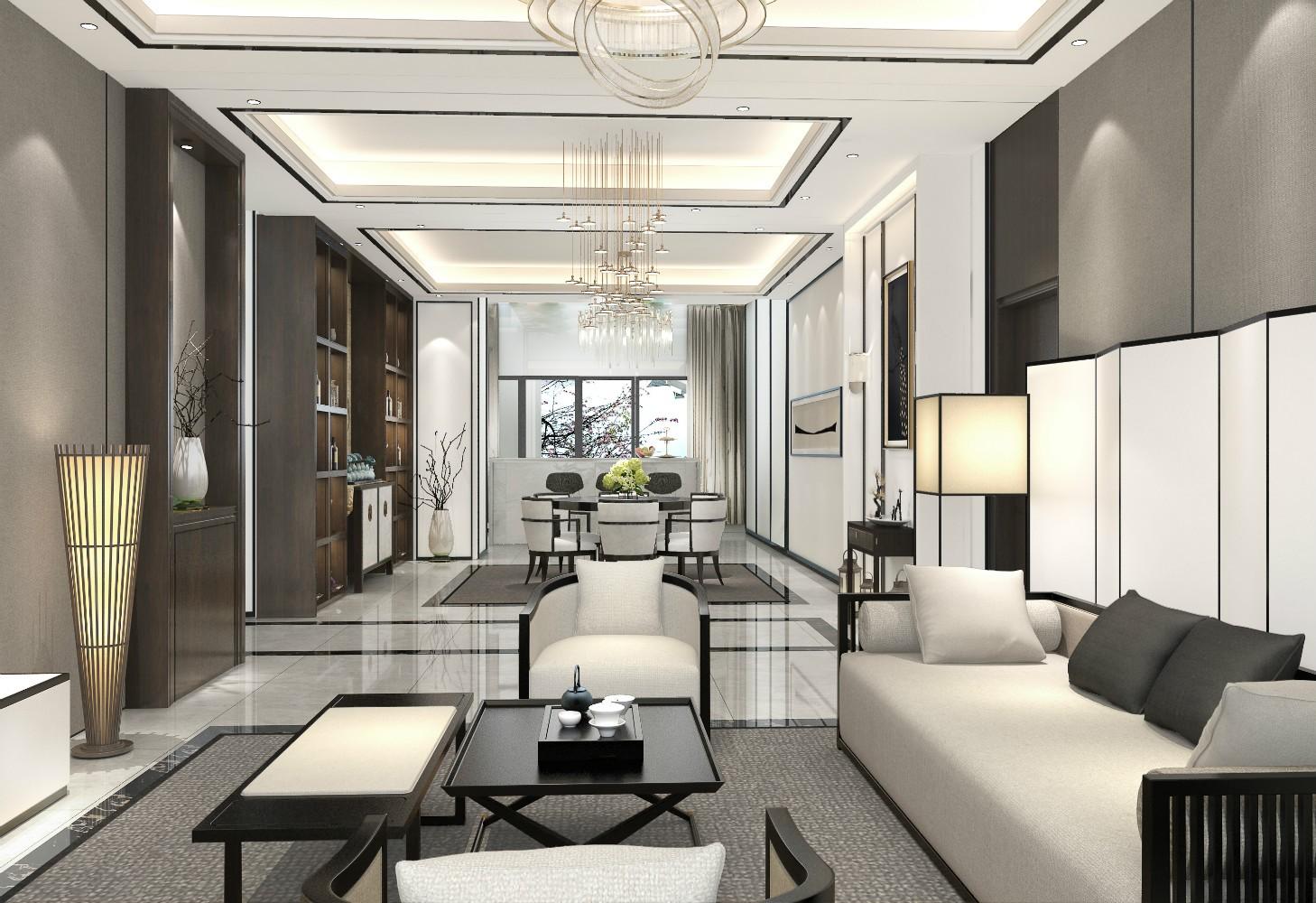 5室5卫3厅300平米中式风格