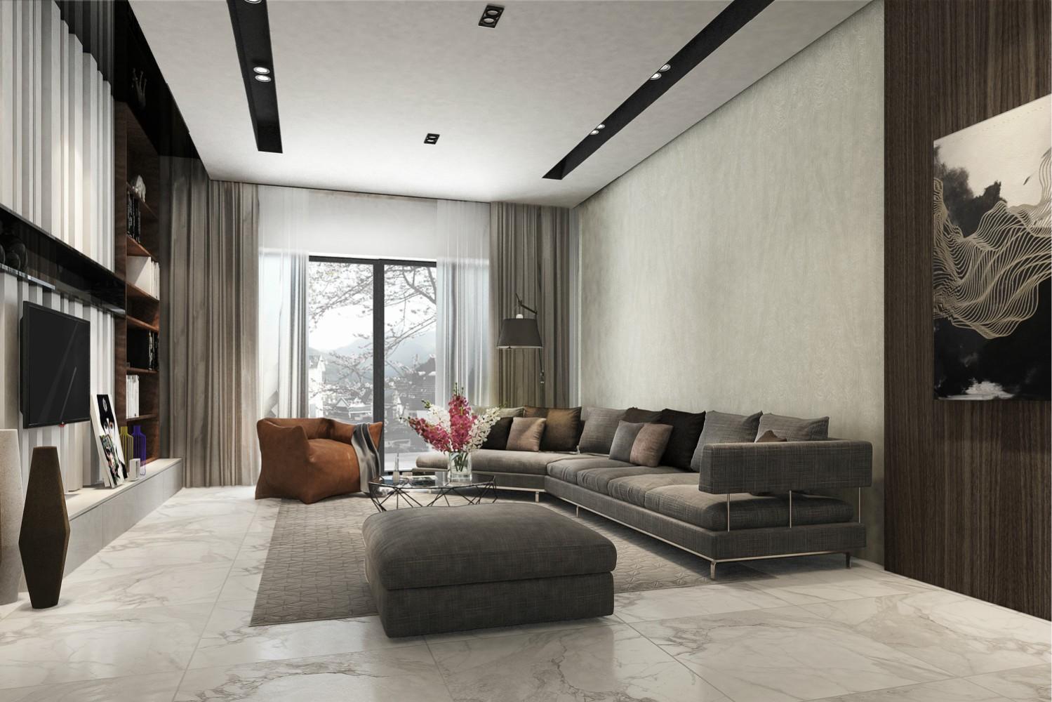 5室5卫3厅300平米现代风格