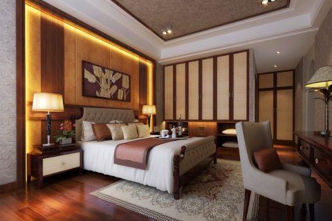 中式风格120平米套房新房装修效果图