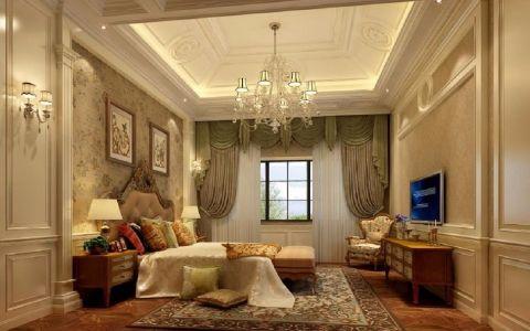 卧室吊顶现代欧式风格装饰图片