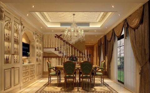 餐厅楼梯欧式风格装修设计图片