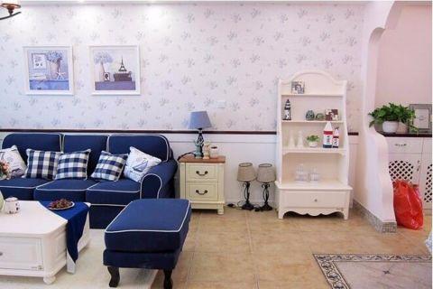 地中海风格140平米套房室内装修效果图