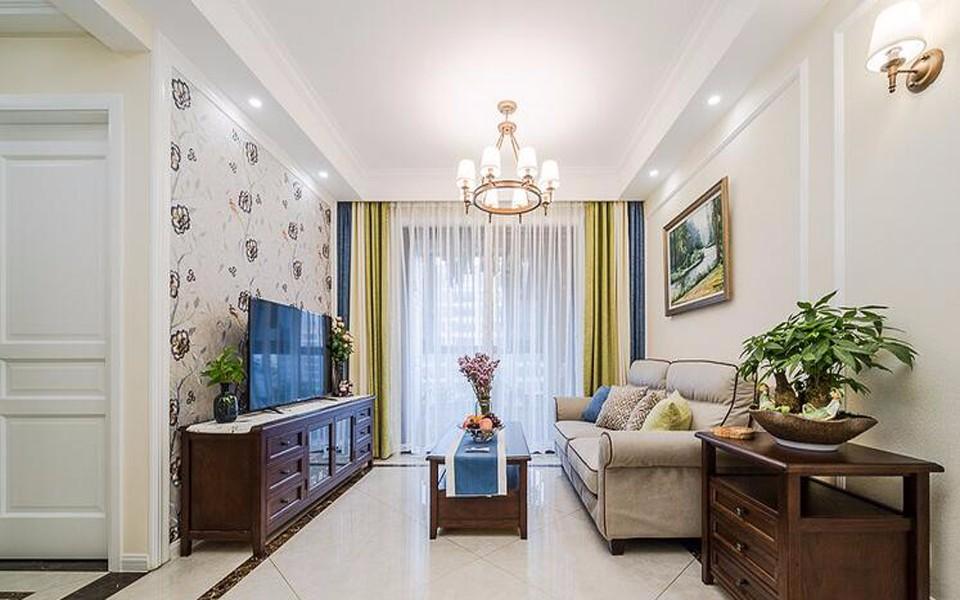 2室1卫2厅97平米美式风格