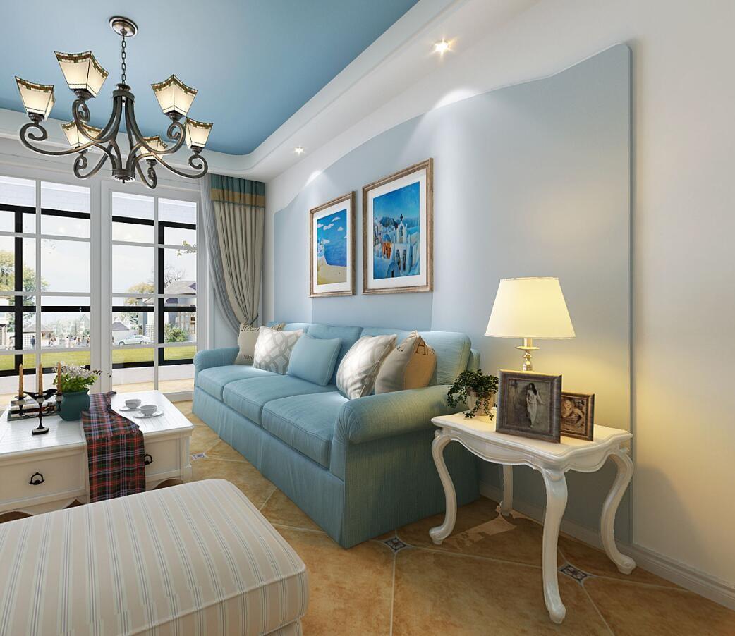 3室1卫2厅81平米地中海风格