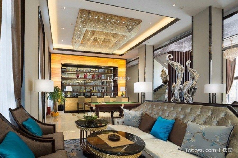 欧式风格240平米大户型新房装修效果图
