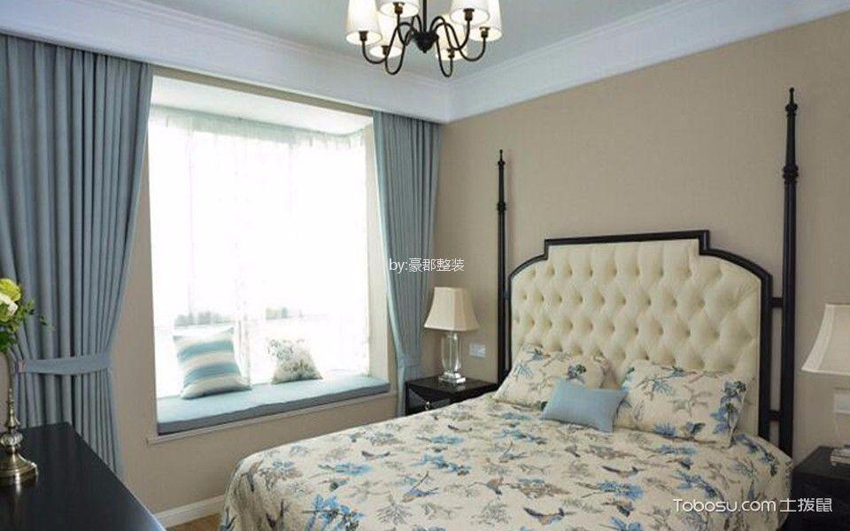 混搭风格137平米三室两厅新房装修效果图