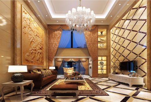 简欧风格250平米复式新房装修效果图