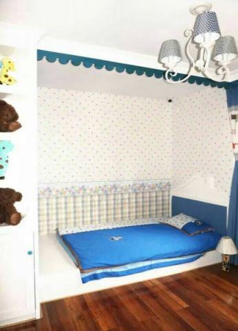 儿童房榻榻米地中海风格装潢设计图片