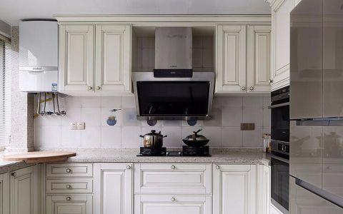 厨房吧台欧式风格装饰设计图片