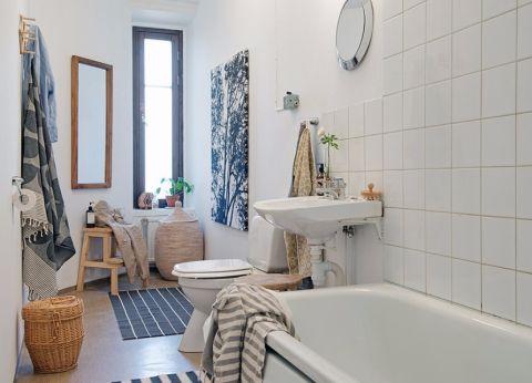 卫生间北欧风格装饰图片