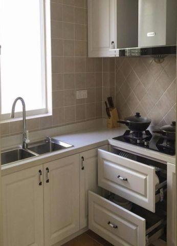 厨房窗台混搭风格装饰设计图片