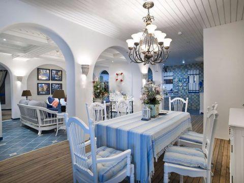 餐厅门厅地中海风格装修图片