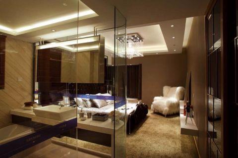 新古典风格140平米大户型室内装修效果图