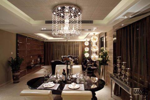 餐厅吊顶新古典风格装修图片