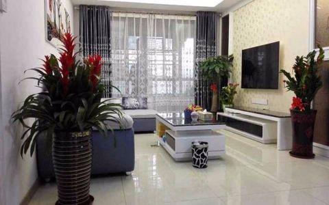 东方龙福湾125平米现代简约风格三居室装修效果图