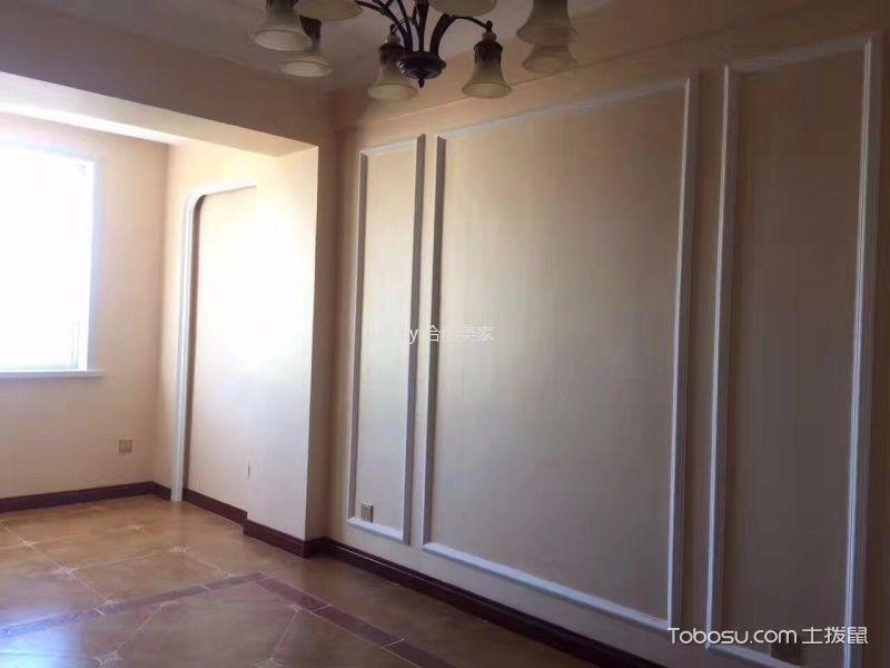 70平美式风格二居室装修效果图