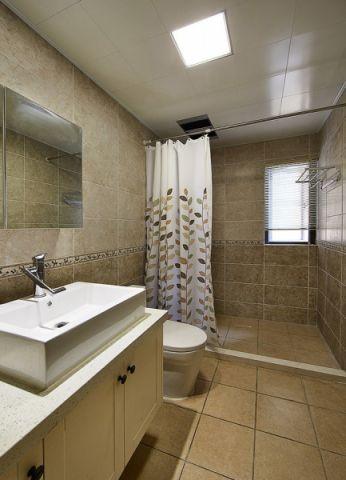 纯净卫生间pvc扣板吊顶设计图
