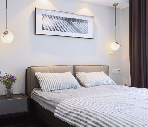 卧室床现代风格装潢设计图片