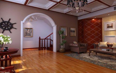 客厅沙发中式风格装修效果图
