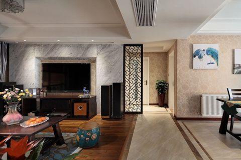 客厅地板砖中式风格装修图片