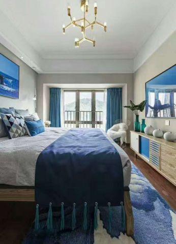 卧室电视柜地中海风格装修设计图片