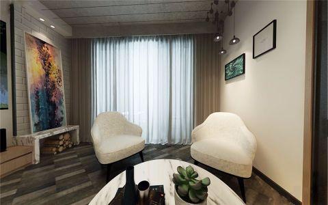 客厅窗帘经典风格装饰设计图片