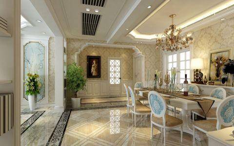 餐厅地砖欧式风格效果图