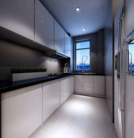 厨房走廊简约风格装修效果图